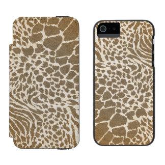 Animal Print iPhone5 Wallet Case