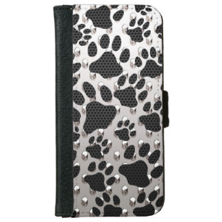 Animal Print iPhone6 Wallet Cases