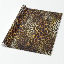 Animal Print Jaguar Rich Deep Colors Wrapping Paper