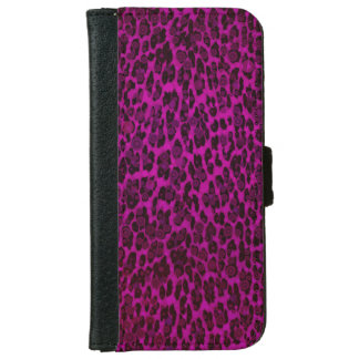 Animal Print Leopard iPhone6 Wallet case iPhone 6 Wallet Case