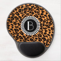 Animal Print Leopard Pattern Gel Mouse Pad