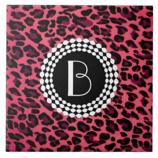 Animal Print Leopard Pattern Ceramic Tile