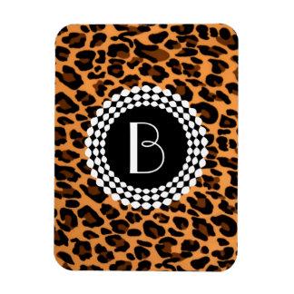 Animal Print Leopard Pattern Vinyl Magnet