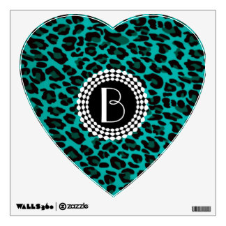 Animal Print Leopard Pattern Wall Sticker