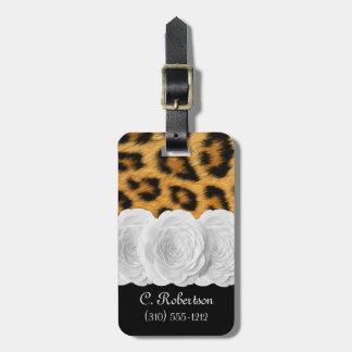 Animal Print Luggage Tag