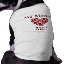 Animal Print Mommy Heart Me Tee