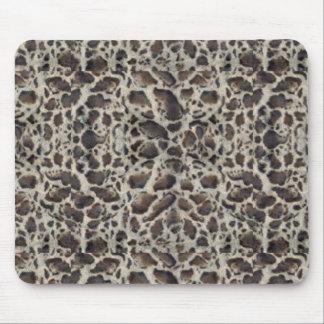 Animal Print Ocelot Mouse Pad