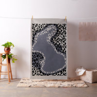 Animal print of leopard #22 fabric