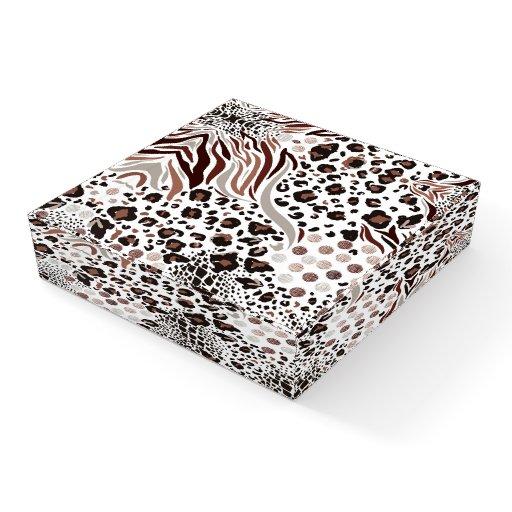 Animal Print Paperweight