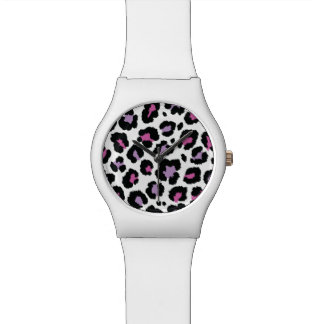 Animal Print Pattern Colorful Design Wristwatch