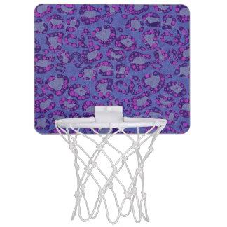 Animal Print Pattern Mini Basketball Hoops