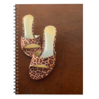 Animal Print Shoes Notebook