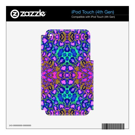 Animal Print Decal For iPod Touch 4G