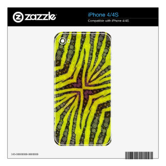 Animal Print Decal For The iPhone 4