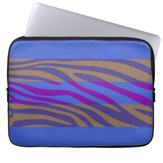 Animal Print Skin Zebra Retro Colorful Pattern 10 Computer Sleeve