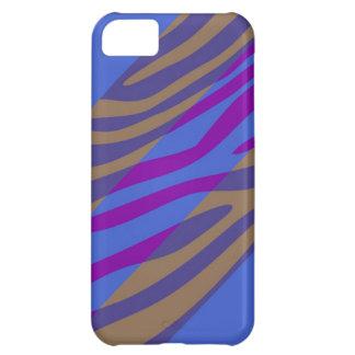Animal Print Skin Zebra Retro Colorful Pattern 11 Case For iPhone 5C