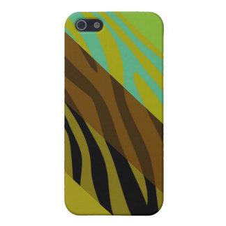 Animal Print Skin Zebra Retro Colorful Pattern 11 iPhone SE/5/5s Cover