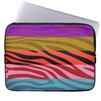 Animal Print Skin Zebra Stripe Pattern 2 Computer Sleeve