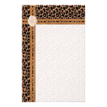 Animal Print Stationery
