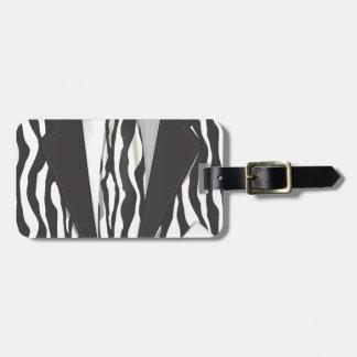 Animal Print Suit Bag Tags