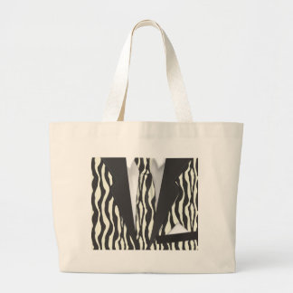 Animal Print Suit Jumbo Tote Bag