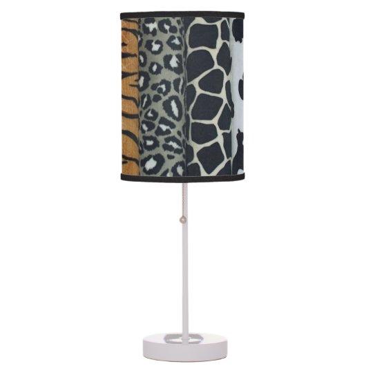 Animal Print Table Lamp Zazzle Com