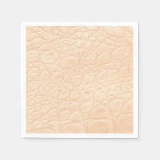 Animal Print Texture in Pink! Classic + Modern Paper Napkin