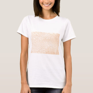 Animal Print Texture in Pink! Classic + Modern T-Shirt