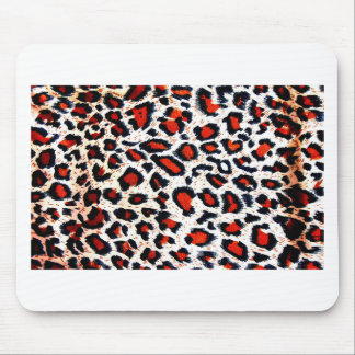 Animal Printer Leopard Abstract Mouse Pad