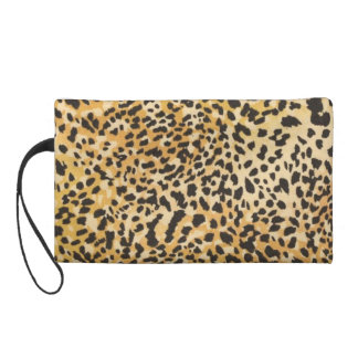 animal prints add instant sex-appeal wristlet purse