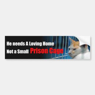 Animal Prison Bumper Sticker