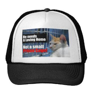 Animal Prison Cage Trucker Hat