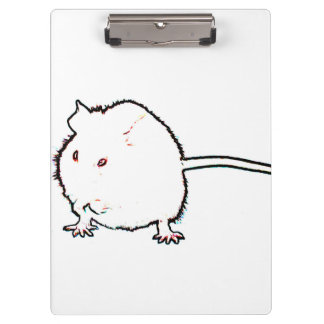 animal que se lava del esquema borroso del ratón