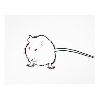 animal que se lava del esquema borroso del ratón tarjetas publicitarias