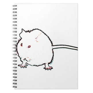 animal que se lava del esquema borroso del ratón libreta