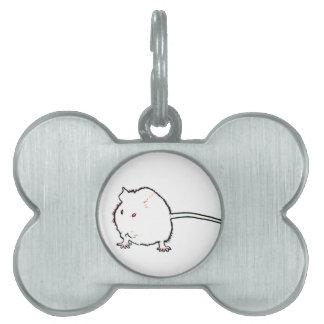 animal que se lava del esquema borroso del ratón placa de mascota