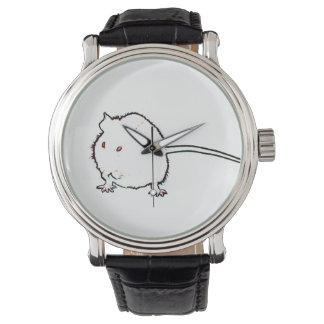 animal que se lava del esquema borroso del ratón reloj