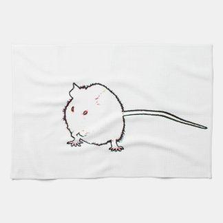 animal que se lava del esquema borroso del ratón toalla