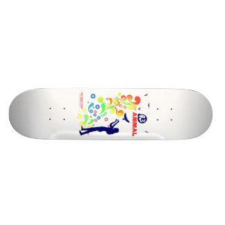 Animal R3 Woman and Birds Skateboard