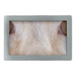 animal rectangular belt buckle