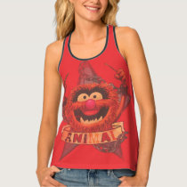 Animal - Red Tank Top