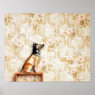 Animal representation,novelty item,shelf,knick poster