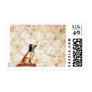 Animal representation,novelty item,shelf,knick stamp