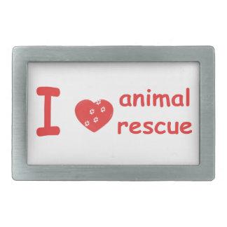Animal Rescue Belt Buckle