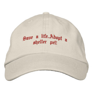 Animal rescue cap