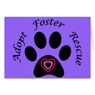 Animal Rescue Card
