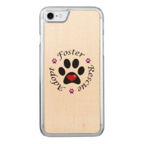Animal Rescue Carved iPhone 7 Case
