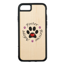 Animal Rescue Carved iPhone 8/7 Case