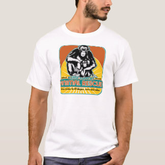 Animal Rescue Chimpanzee T-Shirt