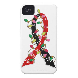 Animal Rescue Christmas Lights Ribbon iPhone 4 Covers